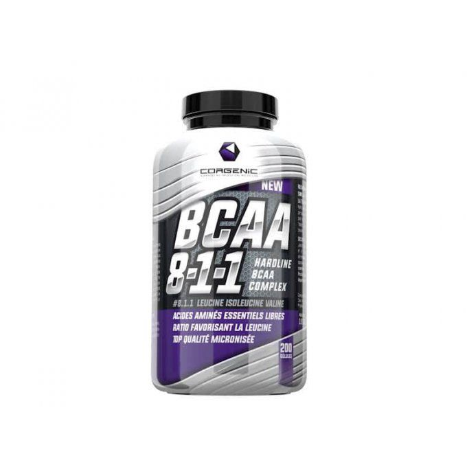 bcaa corgenic 8.1.1 composition