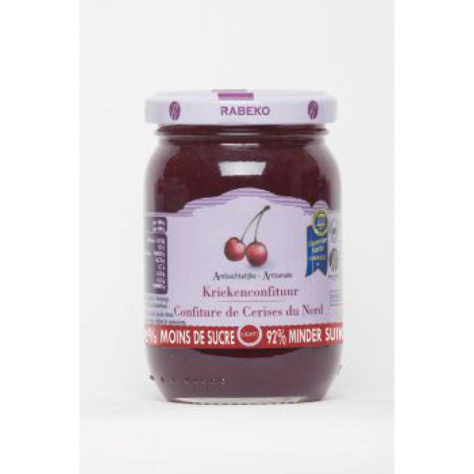 Confiture cerises extra-light