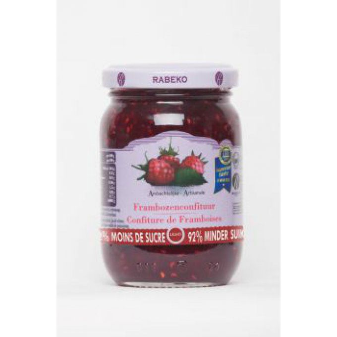 Confiture framboises extra-light