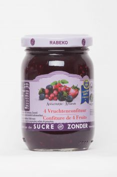 Confiture 4 fruits extra-light
