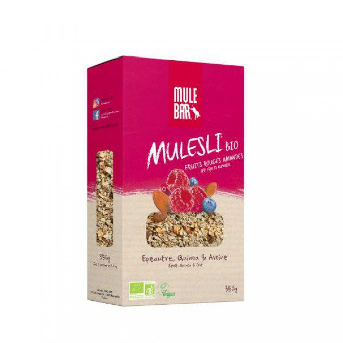 Mulesli BIO & Vegan – Fruits rouges