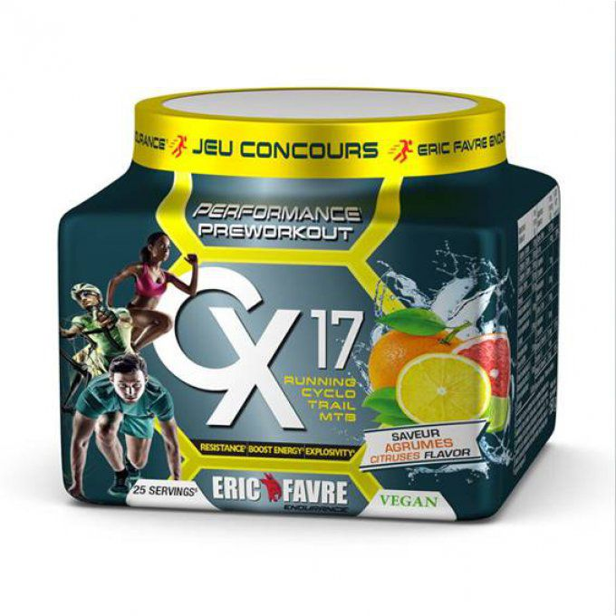 Pre Workout Vegan Cx17 Eric Favre 25 doses